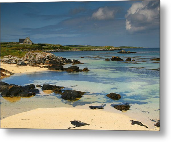Mannin Bay Ireland Metal Print