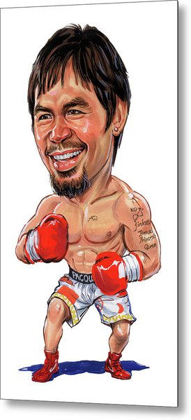 Manny Pacquiao Metal Print