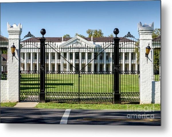 Manresa House Of Retreats In Convent Louisiana Metal Print