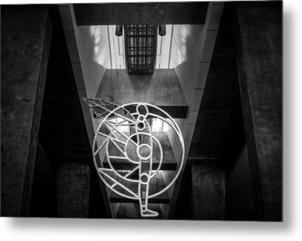 Man's Sphere Of Life Metal Print