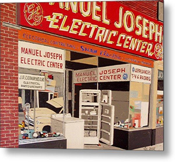 Manuel Joseph Metal Print by Paul Guyer