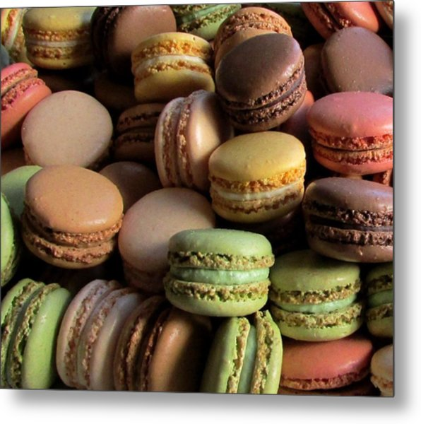 Many Mini Macarons Metal Print