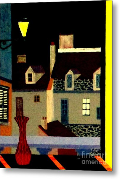 Marais At Night Metal Print