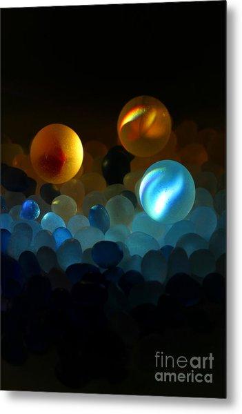 Marble-2 Metal Print by Tad Kanazaki
