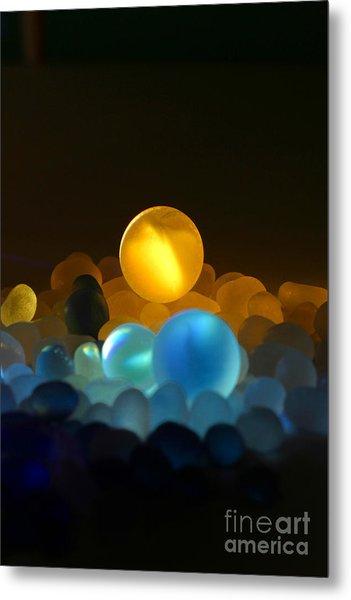 Marble-3 Metal Print by Tad Kanazaki
