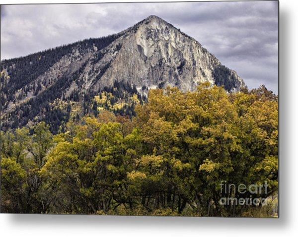 Marcellina Mountain Metal Print