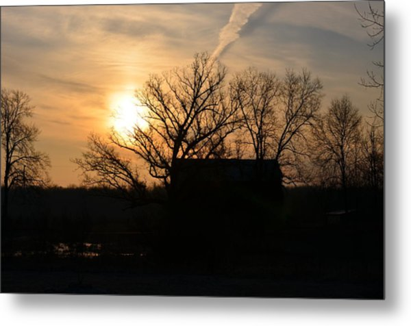 March Sunrise1 Metal Print by Jennifer  King