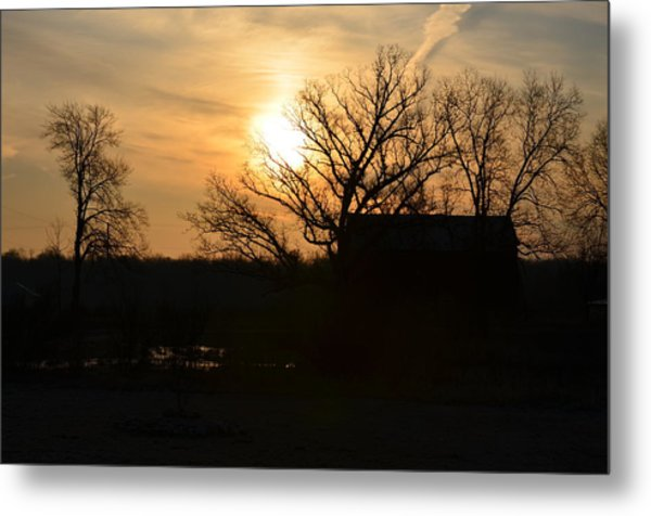 March Sunrise3 Metal Print by Jennifer  King