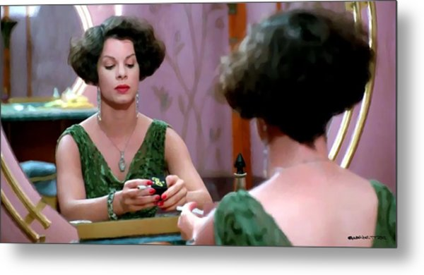 Marcia Gay Harden As Verna Bernbaum In The Film Miller S Crossing By Joel And Ethan Coen Metal Print