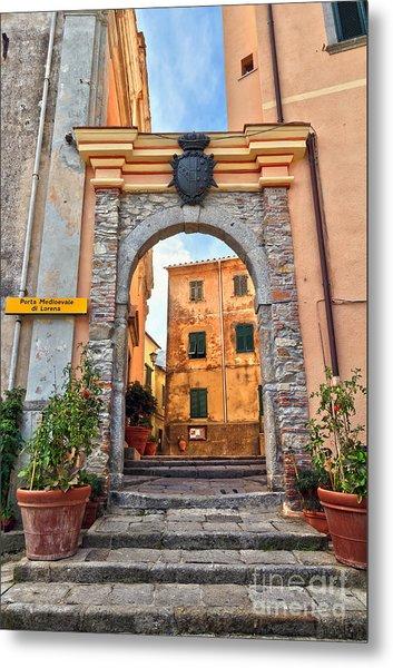 Marciana - Ancient Gate Metal Print
