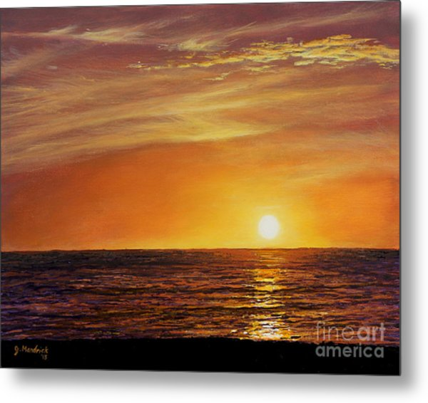Marco Island Sunset Metal Print