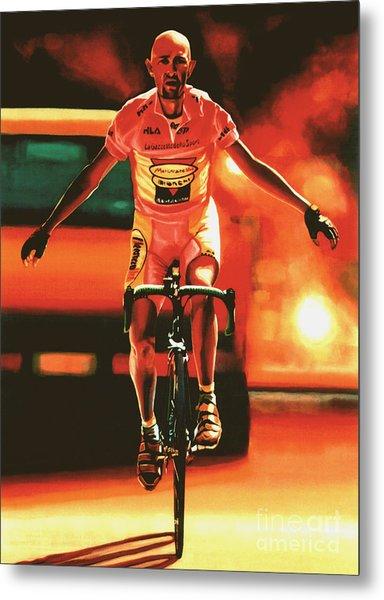 Marco Pantani Metal Print