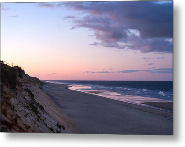 Marconi Beach At Dusk Metal Print