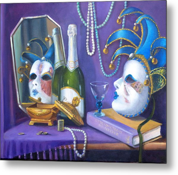 Mardi Gras Metal Print by Rich Kuhn