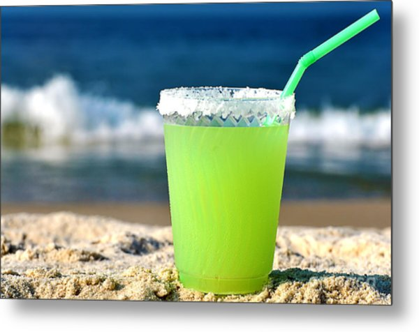 Margarita On The Beach Metal Print