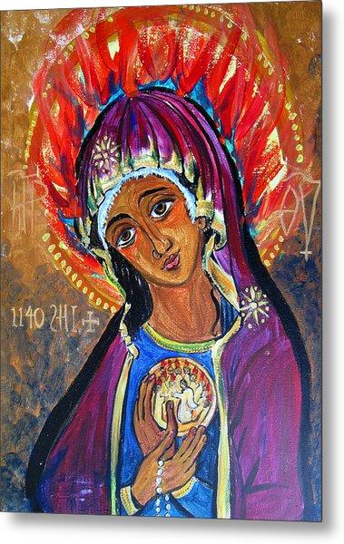 Maria Of Pentecost Metal Print