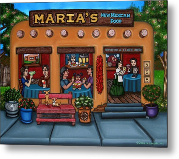Maria's New Mexican Restaurant Metal Print