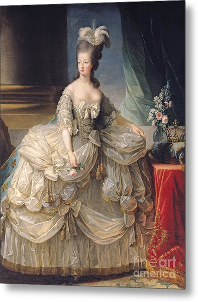 Marie Antoinette Queen Of France Metal Print