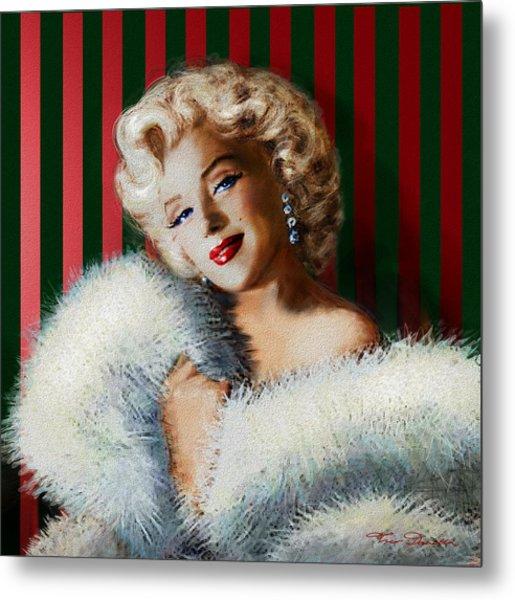 Marilyn 126 D 3 Metal Print
