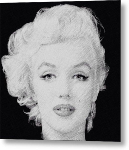 Marilyn Monroe 1 Metal Print