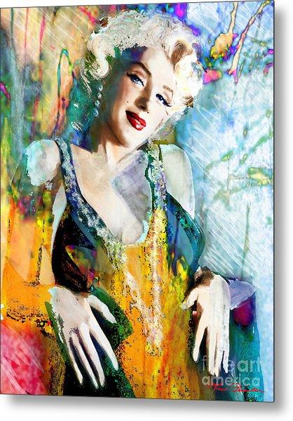 Marilyn Monroe 126 E Metal Print