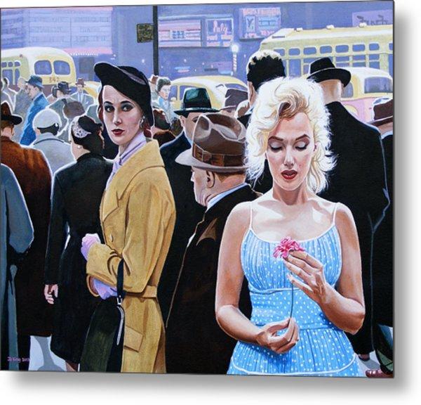Marilyn Monroe - River Of No Return Metal Print by Jo King