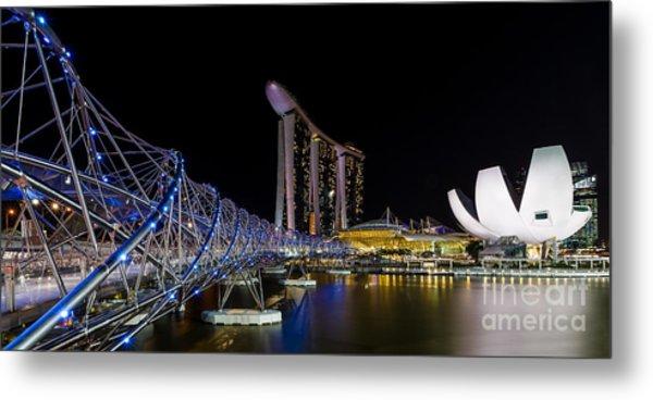 Marina Bay Sands Metal Print by Pete Reynolds