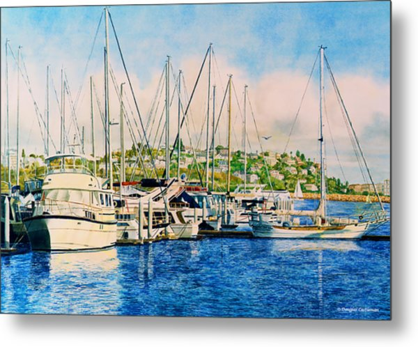 Marina Del Rey Afternoon Metal Print