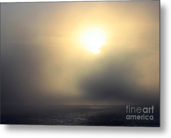 Marine Layer Metal Print