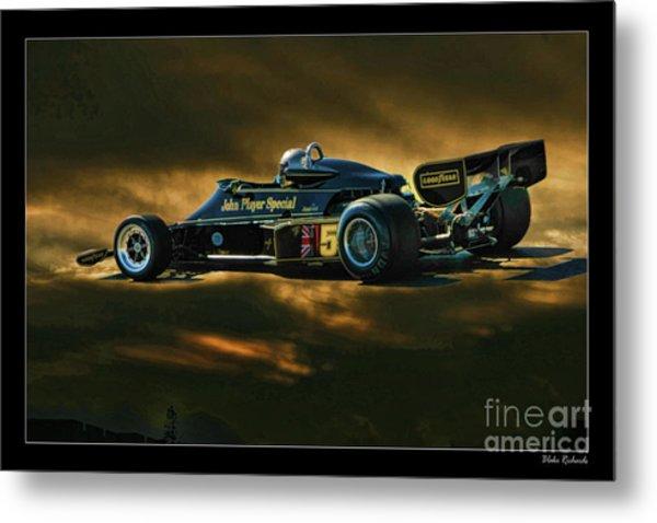 Mario Andretti John Player Special Lotus 79  Metal Print