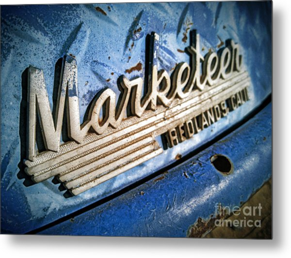 Marketeer Metal Print by Pam Vick