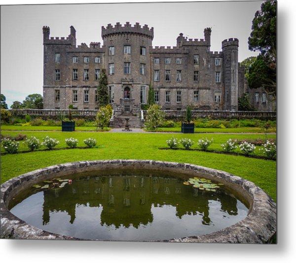 Markree Castle In Ireland's County Sligo Metal Print