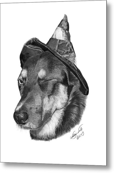 Marlee In Witch's Hat -021 Metal Print