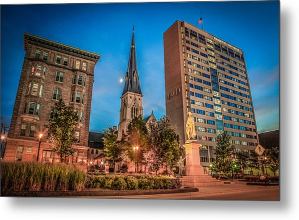 Marquette In Time Metal Print