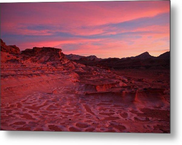 Mars In Nevada Metal Print