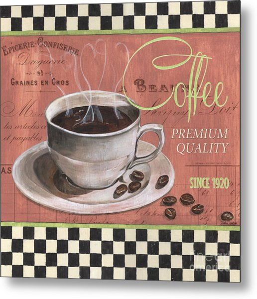 Marsala Coffee 1 Metal Print