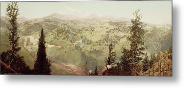 Marshall Pass, Colorado William Henry Jackson Metal Print