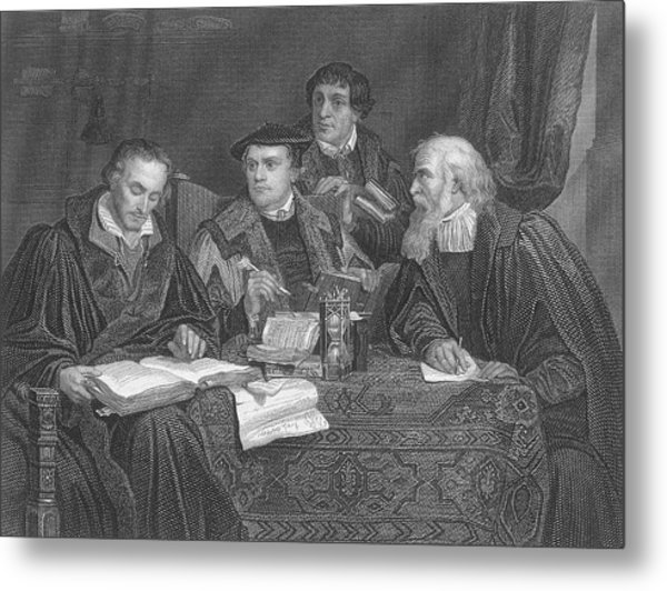 Martin Luther  The German Religious Metal Print by Mary Evans Picture Library