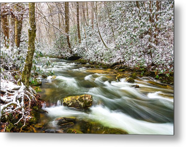 Martins Fork Winter Metal Print