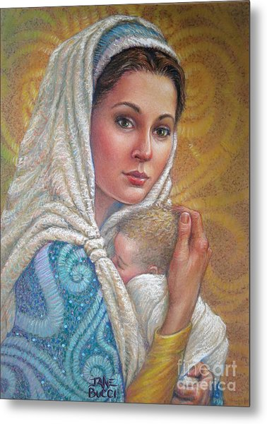 Mary Did You Know    Metal Print