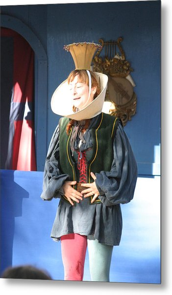 Maryland Renaissance Festival - A Fool Named O - 121211 Metal Print by DC Photographer