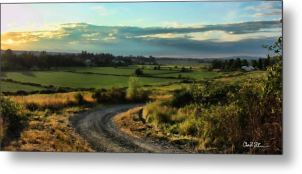 Marysville Valley Metal Print