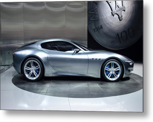 Maserati Alfieri Metal Print