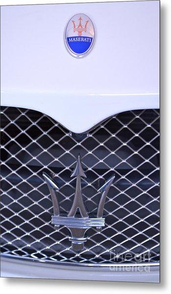 Maserati Emblems Metal Print