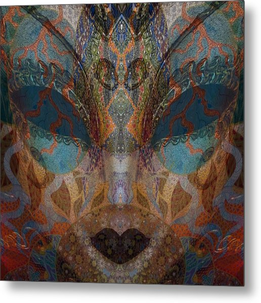 Mask 1 Metal Print