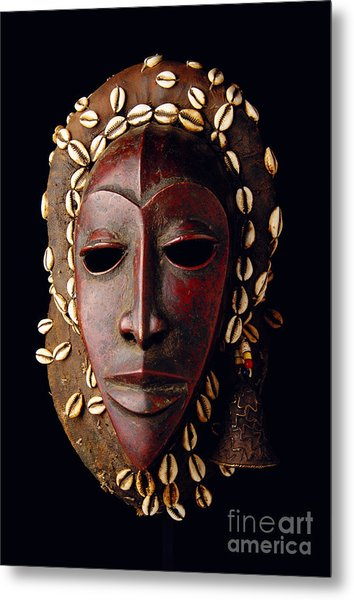 Mask From Ivory Coast Metal Print