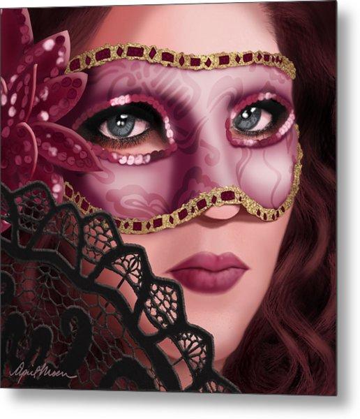Masked II Metal Print