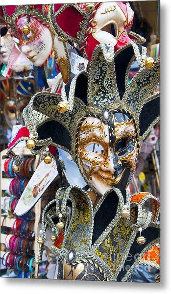 Masks With Attitude Metal Print