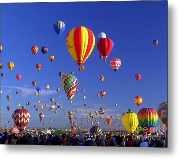 Mass Ascension Metal Print