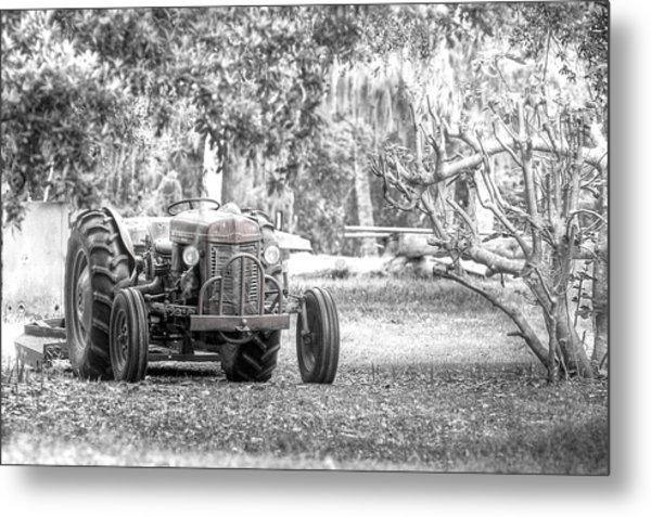 Massey Ferguson Tractor Metal Print